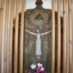 Kümmernisskapelle altar pastetten am freibach