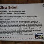 Tafel Müller Bründel 150x150 - Ausflugsziel Müllner Bründel bei Buch am Buchrain