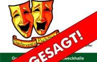 Theater in Fendsbach abgesagt!